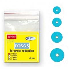 discos-azules-gruesos-